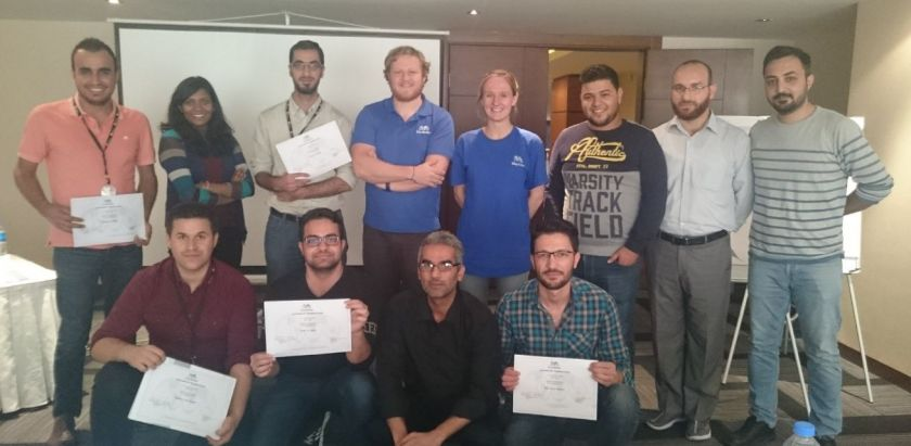QGIS training in Erbil, Iraq